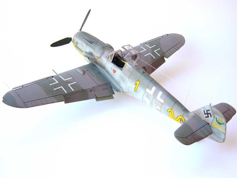 Hasegawa Bf-109 G6 04