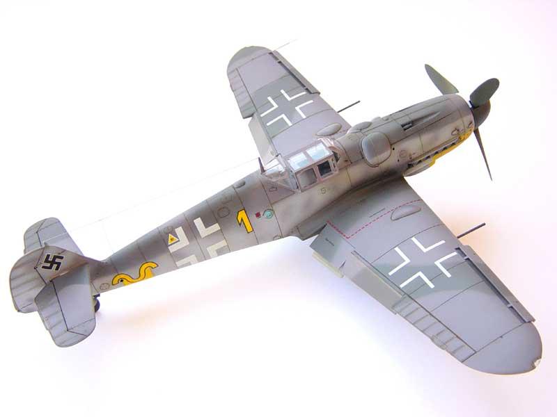 Hasegawa Bf-109 G6 05