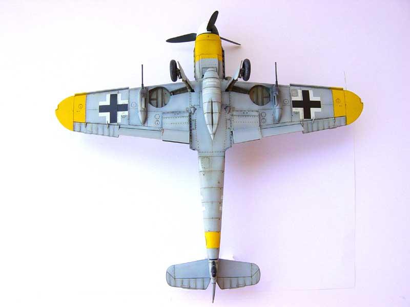 Hasegawa Bf-109 G6 07