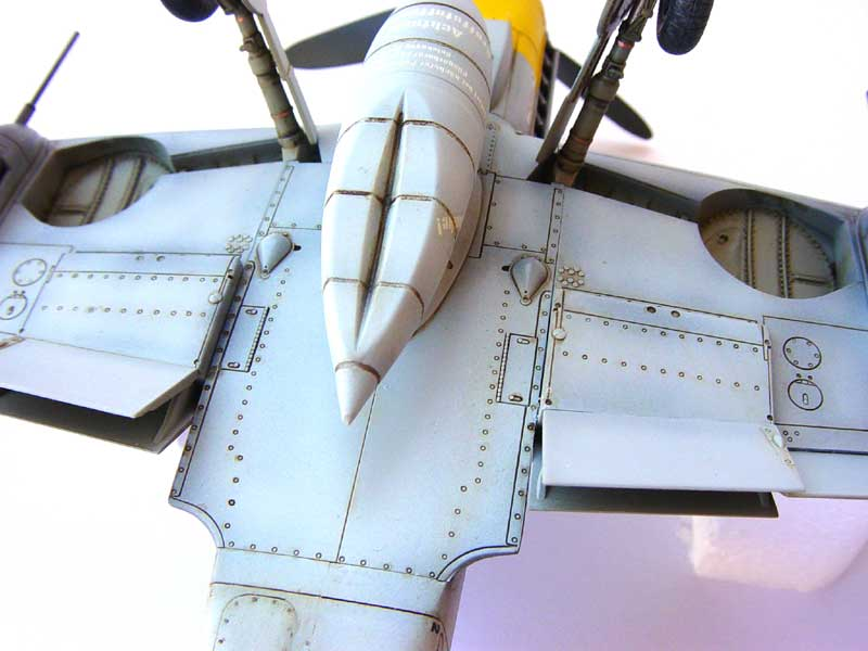 Hasegawa Bf-109 G6 08