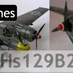 Henschel Hs129B2 (Hasegawa 1/48)