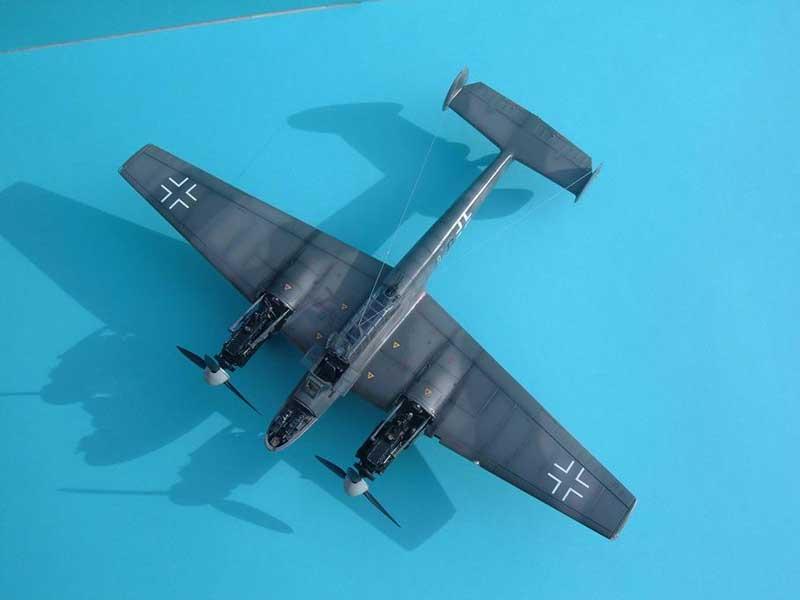 Revell maqueta Bf110 01