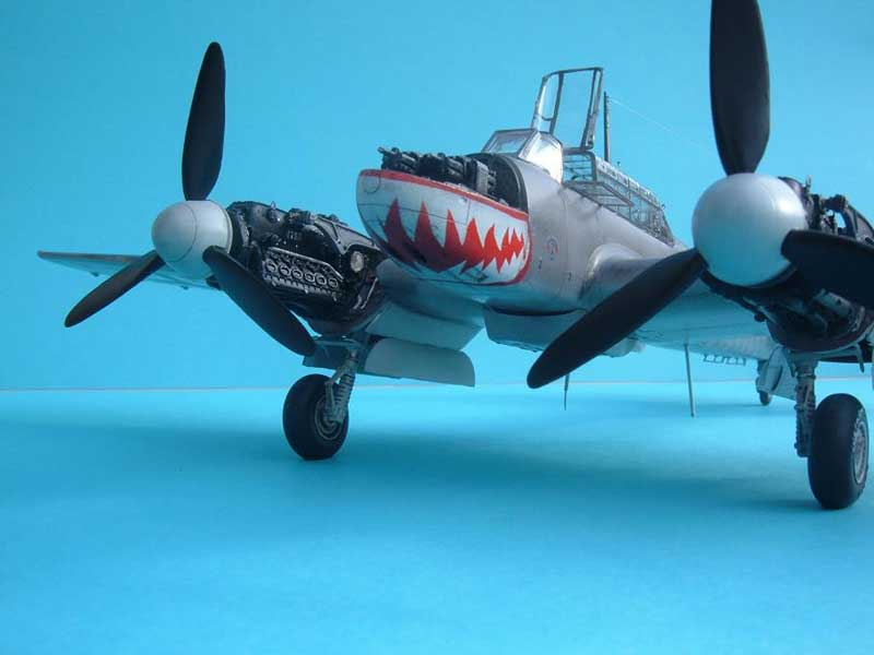 Revell maqueta Bf110 02