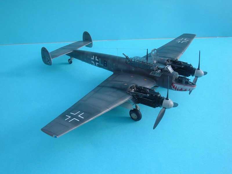Revell maqueta Bf110 03