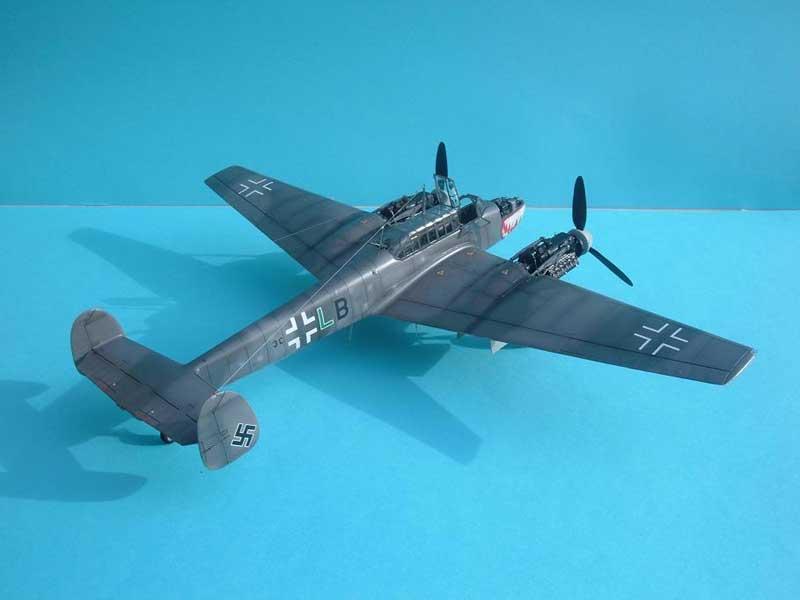 Revell maqueta Bf110 04