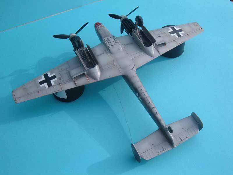 Revell maqueta Bf110 05