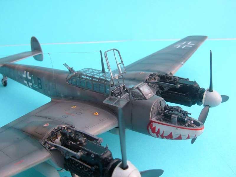 Revell maqueta Bf110 06
