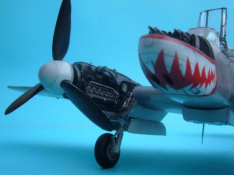 Revell maqueta Bf110 07