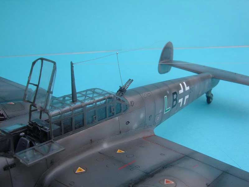 Revell maqueta Bf110 08