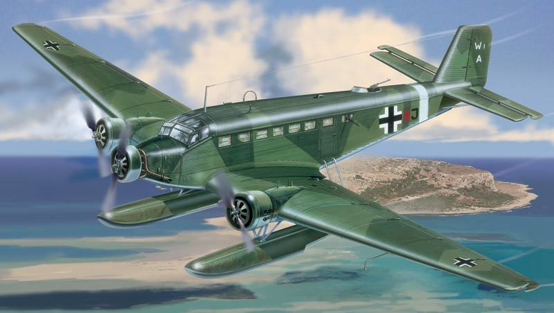 Ju-52 italeri
