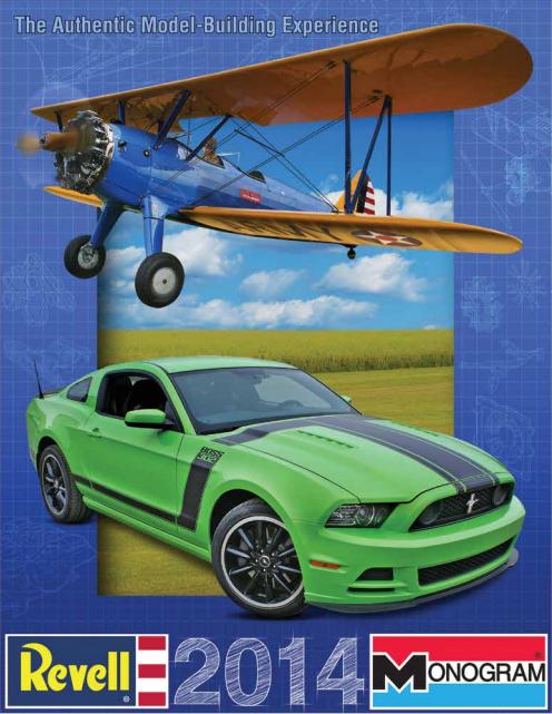 Catálogo Revell modelismo 2014
