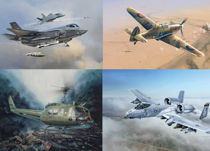 concurso italeri aviones helicopteros
