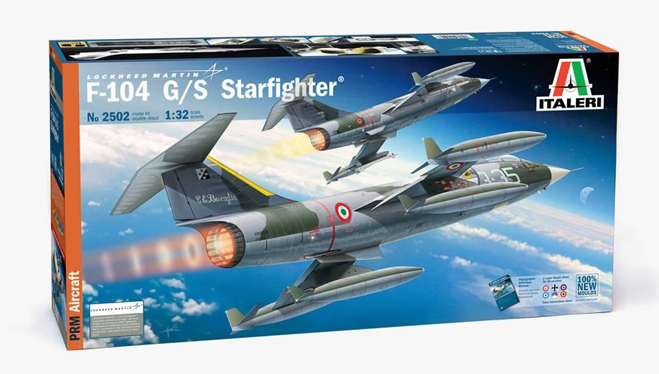 italeri f-104 1/32 06
