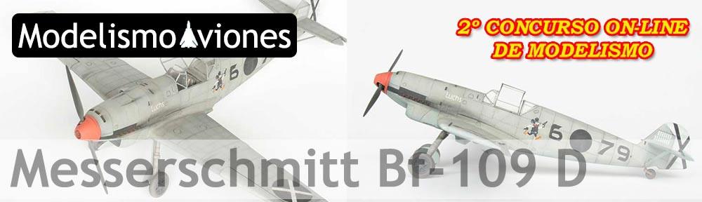 maqueta Bf-109D