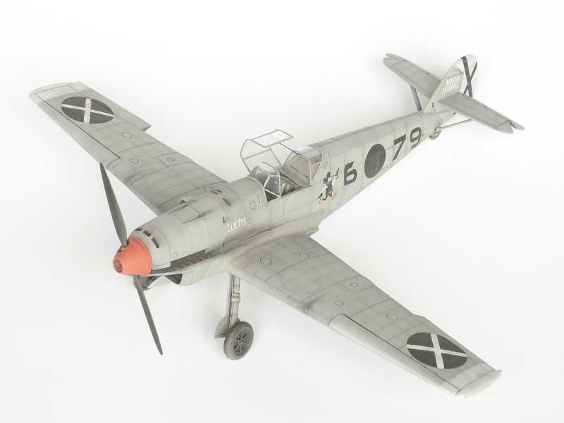 maqueta bf-109D 02