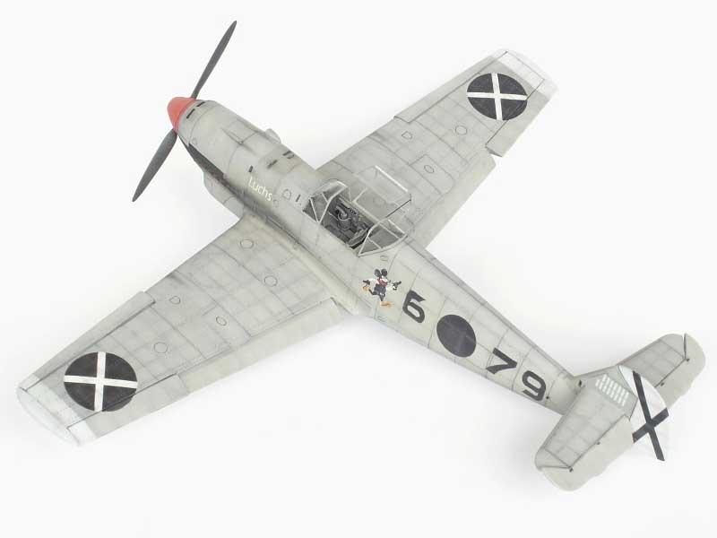 maqueta bf-109D 03