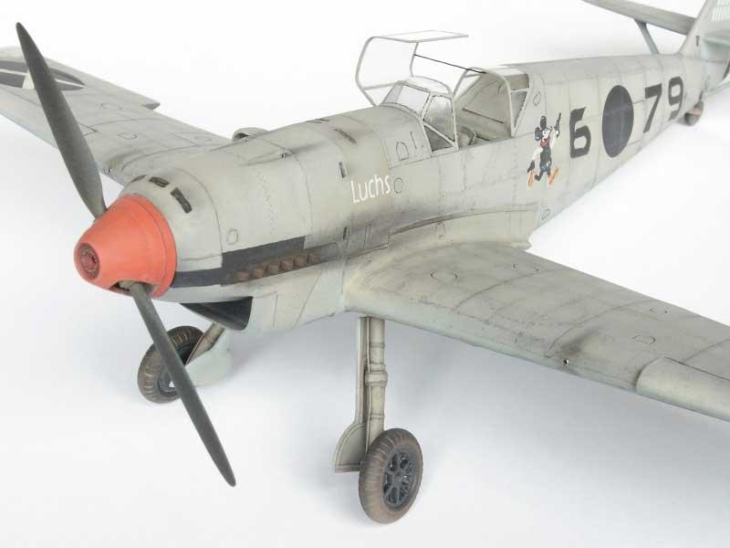 maqueta bf-109D 05
