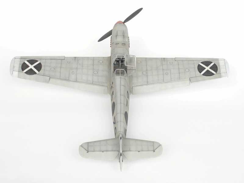 maqueta bf-109D 06