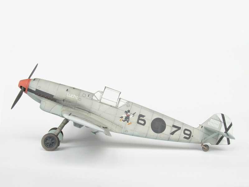 maqueta bf-109D 07