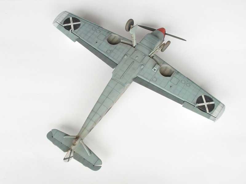 maqueta bf-109D 08