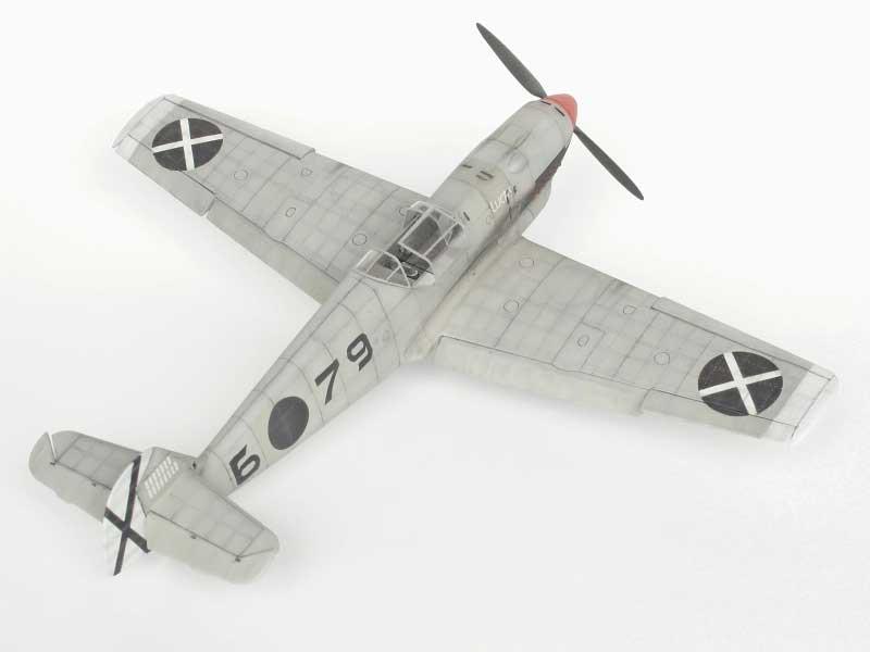 maqueta bf-109D 01