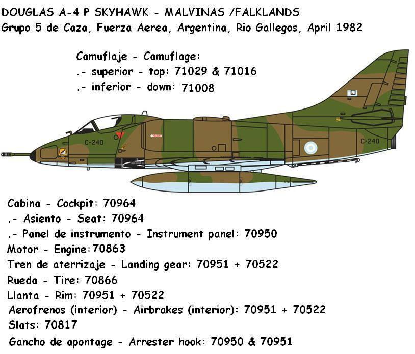 Douglas A4P Skyhawk Malvinas