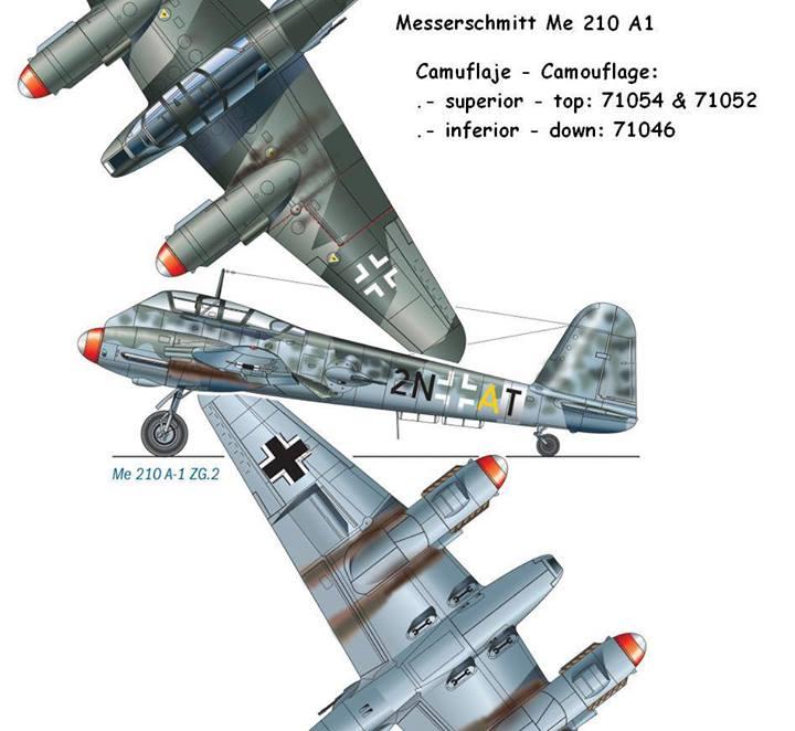 Messerschmitt Me210A1