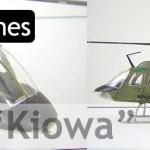 """OH-58A """"Kiowa"""" (Bell 206 para España) (Italeri 1/48)"""