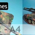 Leopard II A4 División Brunete (Italeri 1/35)