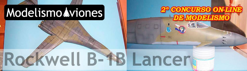 maqueta B1-B Lancer