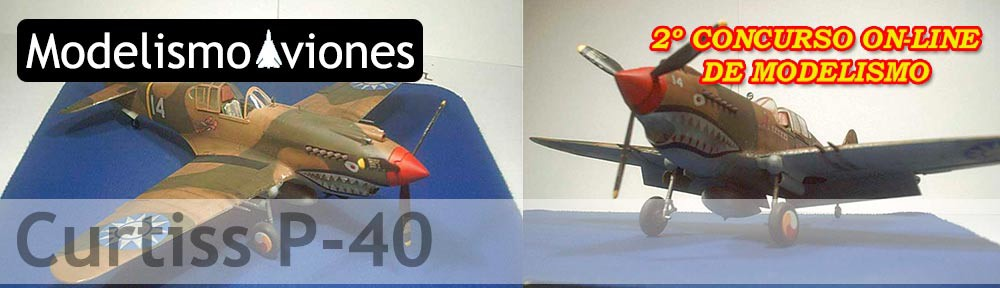 maqueta revell curtiss p40