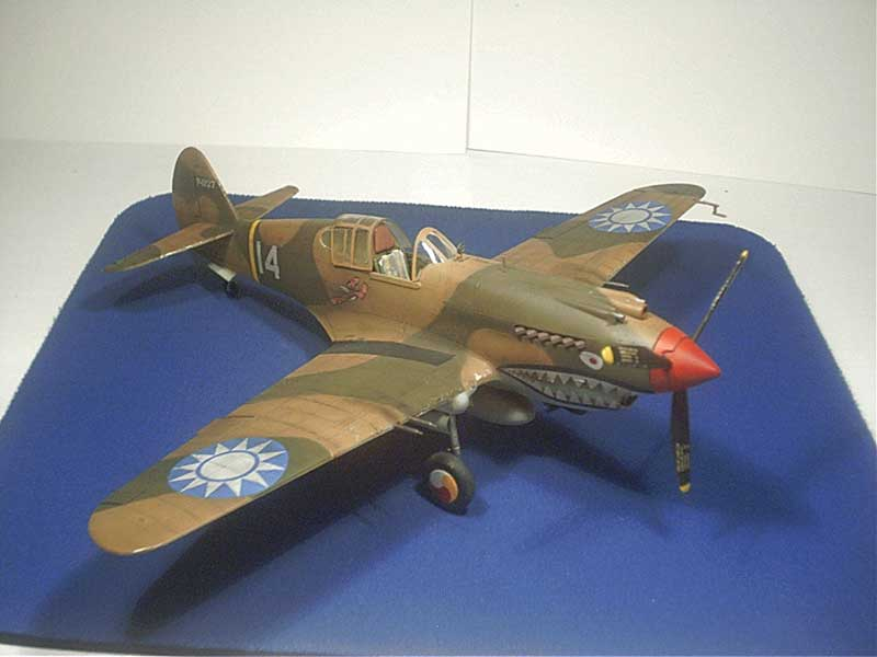 revell curtiss p40 06