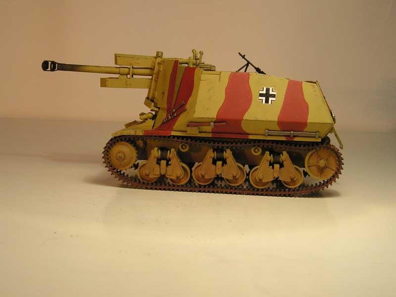 trumpeter geschutzwagen 05