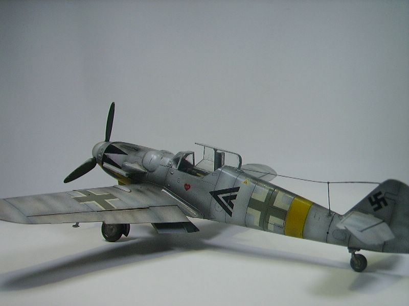 Bf-109 Hasegawa 2