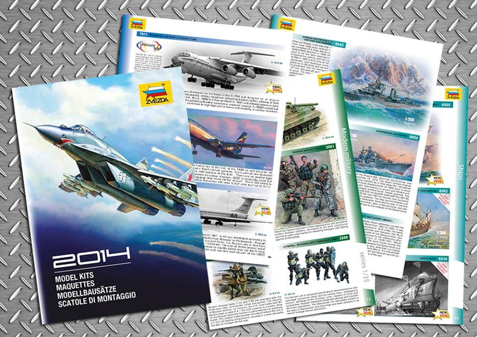 Catalogo 2014 Zvezda