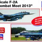 Nueva maqueta de Hasegawa: F-2A en kit doble a 1/72
