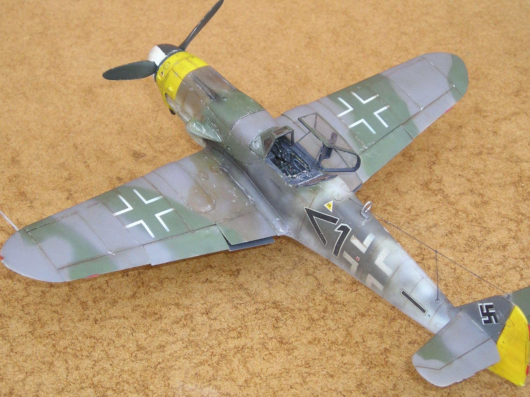 Hasegawa Bf-109 K4 6