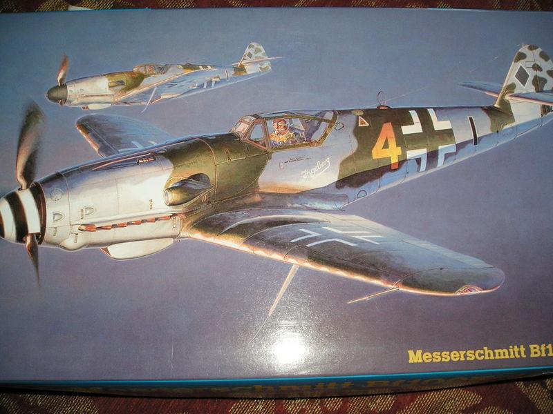 Caja Hasegawa Bf-109 K4