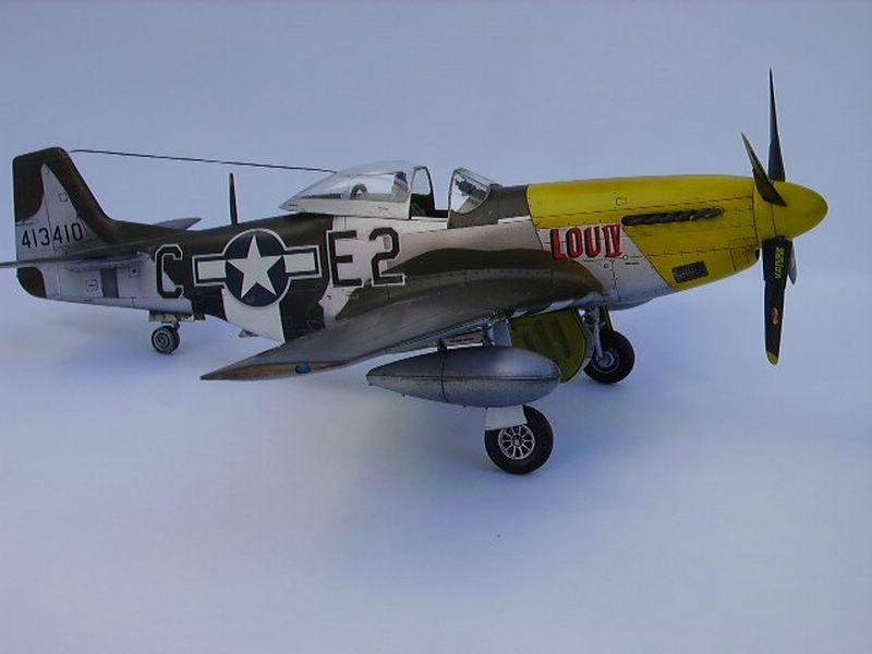 P-51D Mustang Hasegawa 4