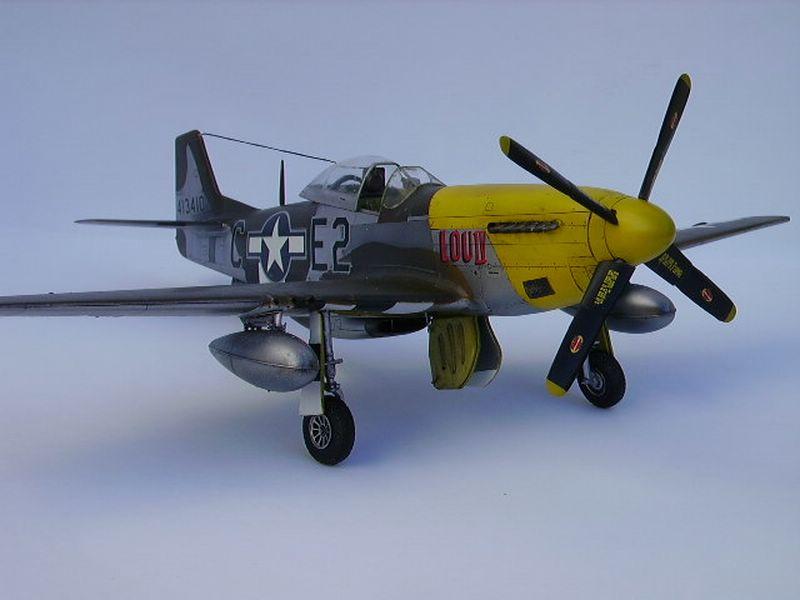 P-51D Mustang Hasegawa 5