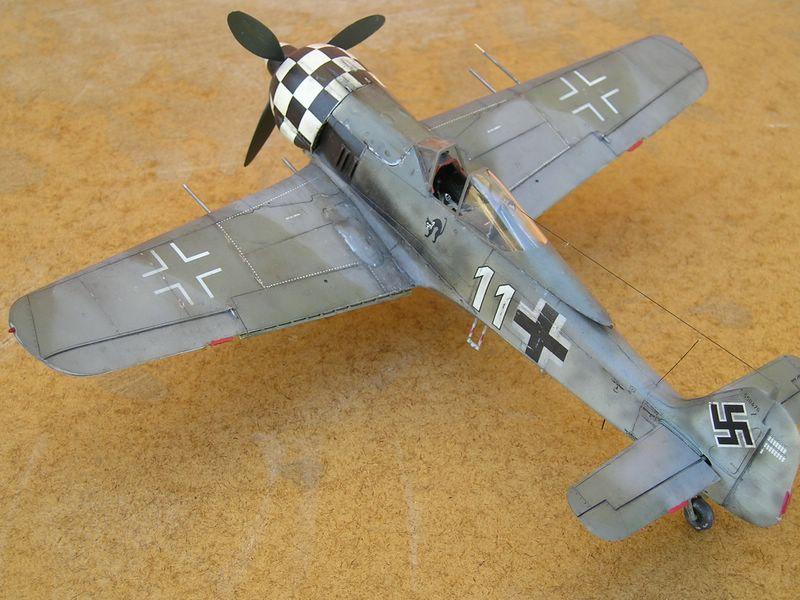 maqueta Dragon Fw-190 1