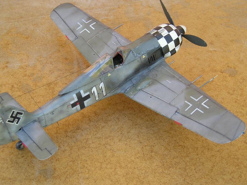maqueta Dragon Fw-190 2