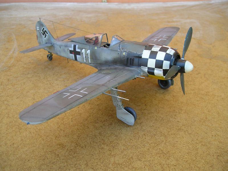 maqueta Dragon Fw-190 3