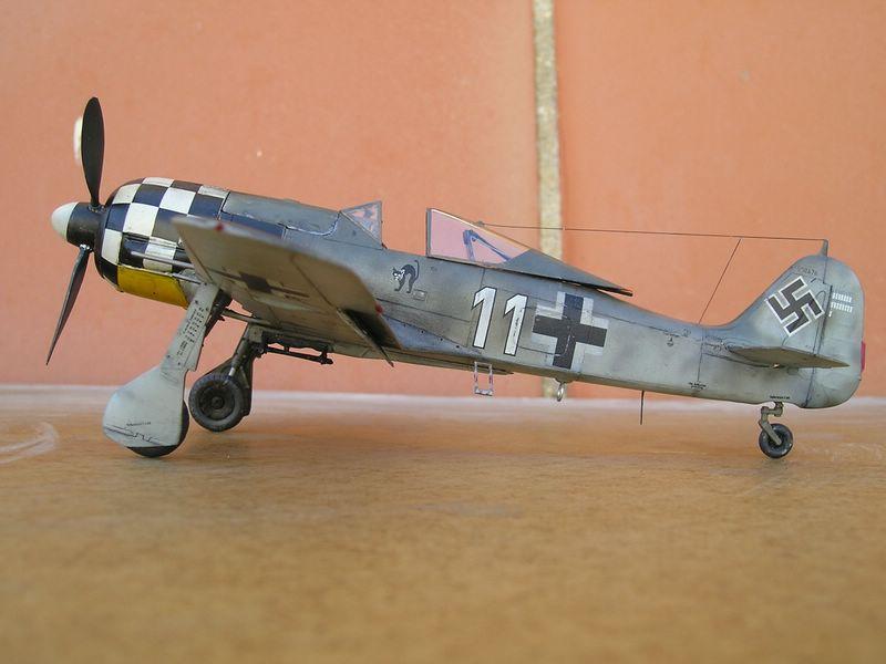 maqueta Dragon Fw-190 4