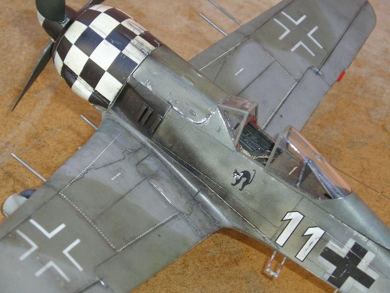 maqueta Dragon Fw-190 5
