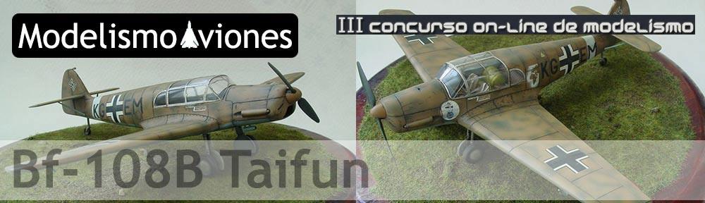 Maqueta Bf-108B Taifun Eduard