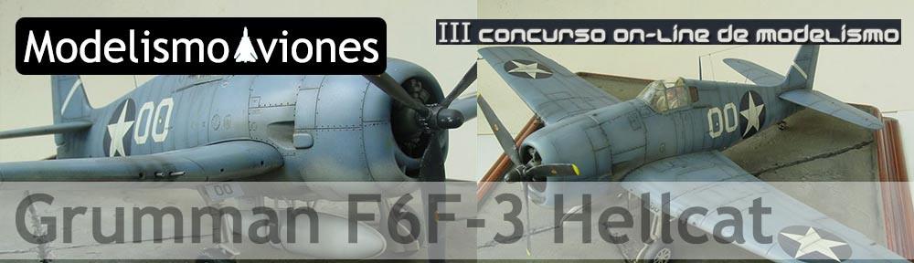 Maqueta del F6F de Hasegawa