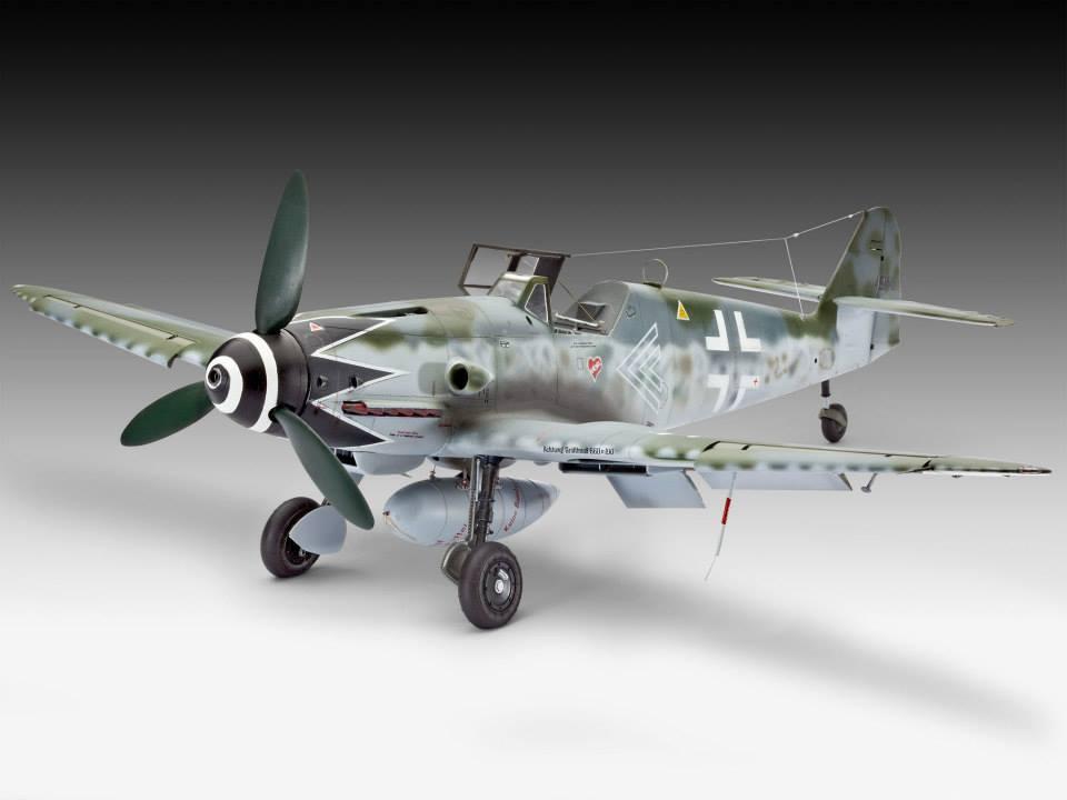 Revell Bf-109 G10 1