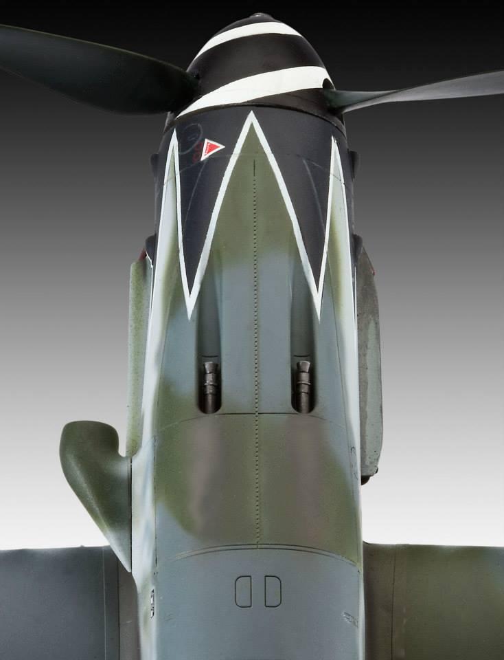 Revell Bf-109 G10 2