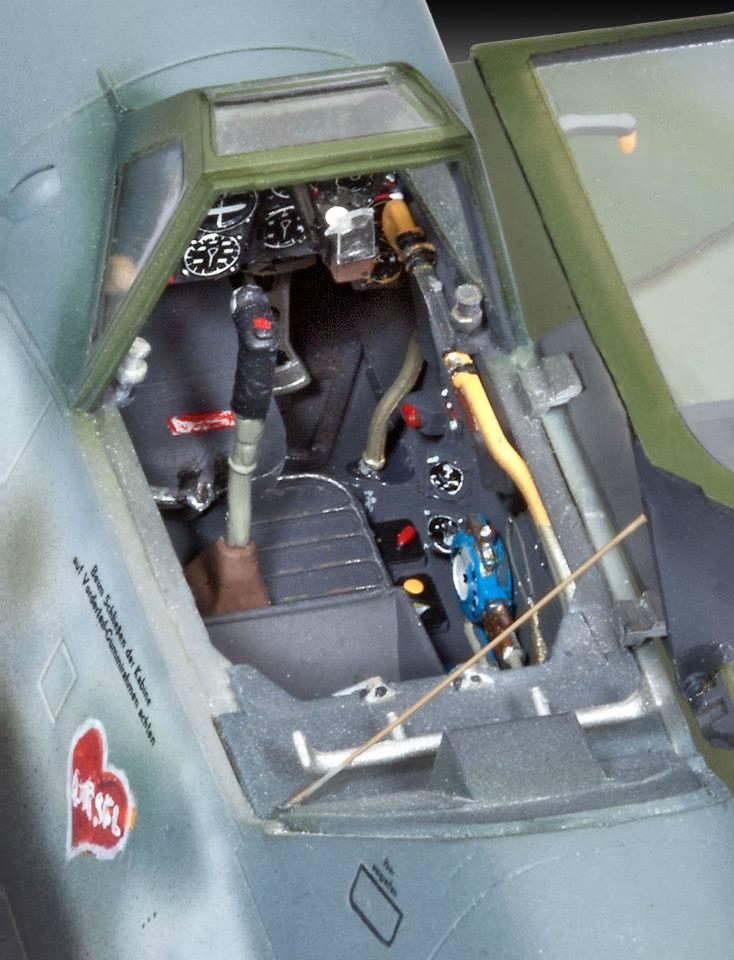 Revell Bf-109 G10 4